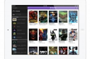 Viewers can watch Twitch on their mobiles devices. It's shown here displayed on an iPad.
