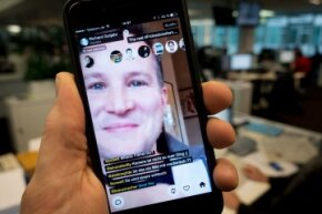 Meerkat, pictured here, offers an alternative live streaming app experience to Periscope.
