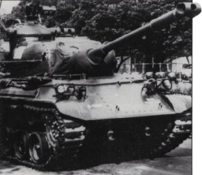 The Type 61 Main Battle Tank was the first armored vehicle designed and built in post-war Japan. See more tank pictures.