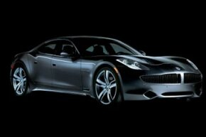 The new luxurious Fisker Karma is a series plug-in hybrid.