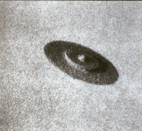 This daylight disc was photographed for Brazil's O Cruzeiro on May 7, 1952, over Barra Da Tiguca. While critics have thoroughly debunked the image, UFO reports of this type are far more common than those of space animals.