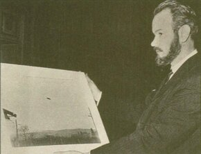 John Keel was a controversial UFO theorist who espoused the strange UFO theory of ether ships.