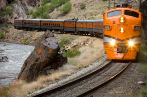 The Colorado Wine Train passes through the scenic Royal Gorge while treating passengers to wines from around the country.