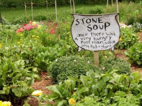 Garden signs can be expressive, inspirational, or just plain silly.