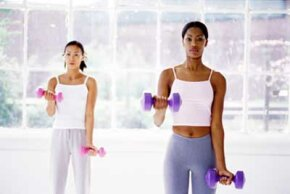 Being more active is a good way to control your calories.