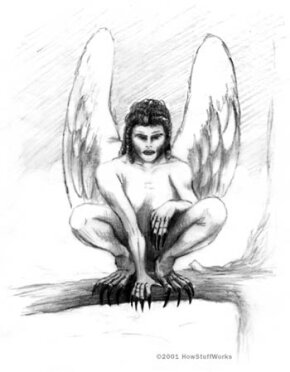 Lamastu and Lilith are often depicted with wings and sharp talons.