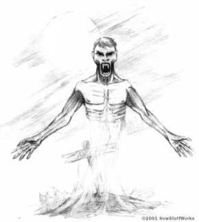 The strigo of eastern Europe: Strigoi, reanimated corpses that prey on the living, inspired much of the modern vampire legend.