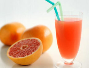 If you're taking vasodilator drugs, you shouldn't drink grapefruit juice.