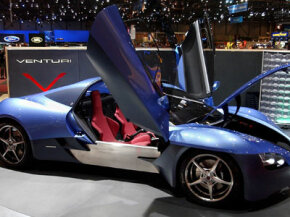 The Venturi Fetish made its world debut during the press days at the 72nd Geneva International Motor Show, on March 5, 2002, in Geneva, Switzerland.