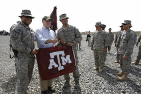 If these guys decide to go back to Texas A&M for their Masters degrees, they're going to have a lot of choices to make.