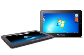 The dual-OS ViewPad 10pro is just one of five tablet offerings from ViewSonic.
