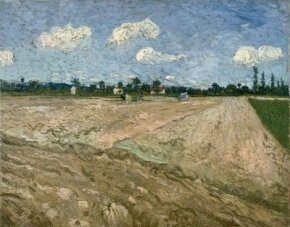 Vincent van Gogh's Ploughed Field is an oil on canvas (28-1/2x36-1/2 inches) that is housed in the Van Gogh Museum in Amsterdam.