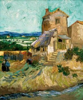 Vincent van Gogh's The Old Mill is an oil on canvas (25-1/2x21-1/4 inches) that is housed in the Albright-Knox Art Gallery in Buffalo.