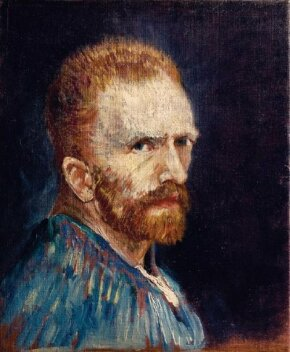 Vincent van Gogh's Self-Portrait is an oil on canvas (15-3/4 x 13-1/2 inches) that is housed in the Wadsworth Atheneum in Hartford.