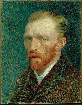 Vincent van Gogh's Self-Portrait is an oil on artist's board mounted on cradled panel (16-1/4 x 12-3/4 inches) that is housed in the Art Institute of Chicago.