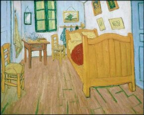 [b]The Bedroom is a depiction of Vincent van Gogh's bedroom.