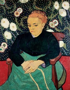 Vincent van Gogh's Madame Roulin Rocking the                              Cradle (La Berceuse) (oil on canvas, 36-1/2x28-3/4                                            inches) is part of the Helen Birch Bartlett Collection                                            at the Art Institute of Chicago.