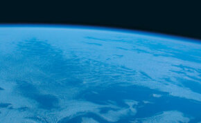 A view of the Earth from SpaceShipOne