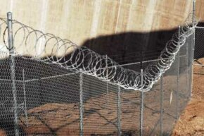 The virtual border fence will be used to compliment some physical fencing already in place, and in some cases, there will be no visible fencing at all.