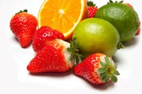 Oranges, strawberries and limes are all natural sources of vitamin C.