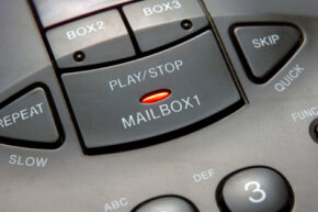 Voice mail offers many more user-friendly options than answering machines.