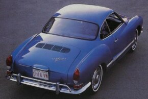 With a sleek body over a humble VW Beetle chassis, the Volkswagen Karmann-Ghia furnished a dash of sports-car spirit at a Volkswagen price.