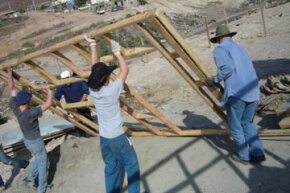 Lend your strength and skills to a community building project, and leave behind lasting evidence of your well-spent vacation.