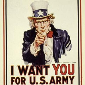This famous U.S. Army recruitment poster first entered usage during World War I.