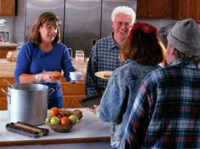 Soup kitchens around the U.S. work to combat hunger.