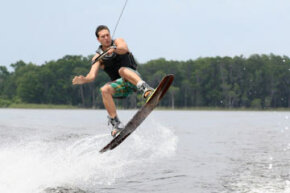 Image Gallery: Extreme Sports Finding the right wakeboard is essential for pulling off fancy jumps and tricks. See extreme sports pictures.