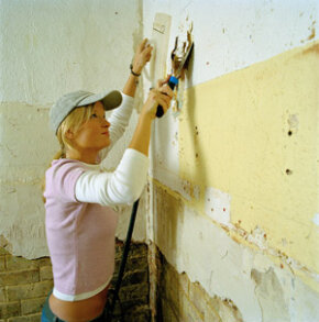 Wallpaper removal isn't fun, but you can whip up a little something at home that can make the job easier. See more home construction pictures.