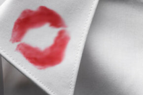 As far as stains go, those made by lipstick can be tough to clean and almost impossible to hide.
