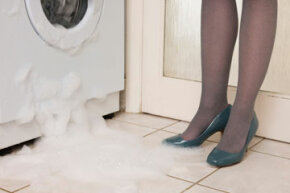 Leaking water can spell trouble (and not just for your shoes).