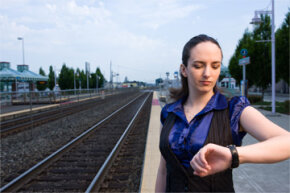 These days, a watch can help you with much more than whether the train is on time.