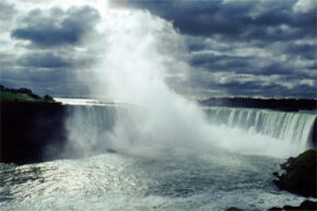 Niagara Falls: It has beauty and whole lot of kinetic energy that we like to put to use for hydroelectric power.