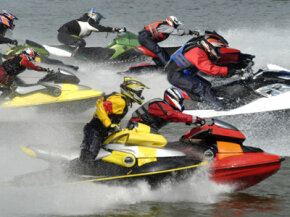 Older PWC were exceptionally dirty. Some areas that banned personal watercraft have allowed newer, more environmentally friendly models to return.
