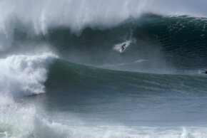 Even waves less impressive than these carry an enormous amount of energy.