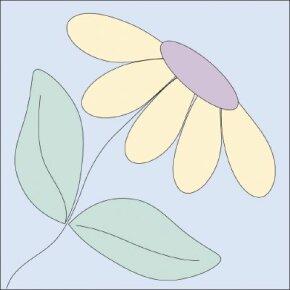 Garden quilt design.