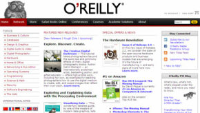 The O'Reilly Media Web site is a prime example of Web 2.0 at work.