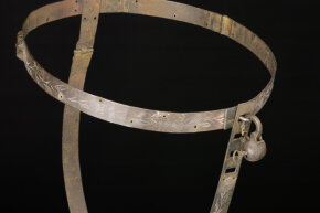 Hopefully the chastitiy belt the passenger was spotted wearing was a little more comfortable than this one.