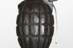 Experts agree that if you're trying to smuggle marijuana in your luggage, it is best not to put it inside a fake grenade -- you'll attract more attention.