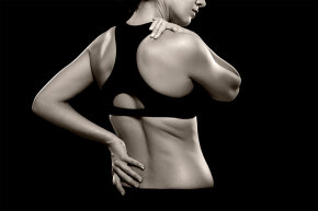 The iTBra, which gives wearers a digital breast self-exam, looks a bit like this sports bra.