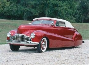 Harry Westergard customized the 1940 Westergard Mercury with a 1942 Buick grille and avant-garde fadeaway fenders. See more custom car pictures.