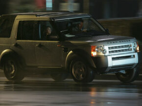 """Image Gallery: Car Safety A diminutive stunt driver fills in for Tom Cruise during the filming of """"Mission: Impossible III."""" See more car safety pictures."""