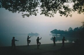 "Tai chi chuan, commonly referred to as ""tai chi,"" is part of an ancient philosophy expressed through graceful movements."