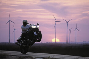 Shaft-driven motorcycles usually require less maintenance, but they're not immune to ill-advised stunts and maneuvers.
