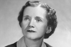 "Biologist Rachel Carson ushered in a new era of environmental concern with her book ""Silent Spring."""