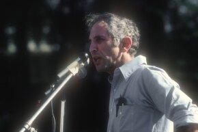 In 1977, Daniel Ellsberg gave a speech about the Pentagon Papers to students at the University of California at Santa Barbara. Ellsberg is still involved in anti-secrecy activism.