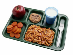 Lunch trays aren't always ahealthy or delicioussight. See more school lunch pictures.