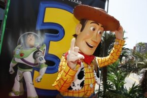 """A whopping 60 percent of the ticket sales from """"Toy Story 3"""" were for its 3-D incarnation. Even so, it represented a decrease from the previous year's 3-D ticket sales."""